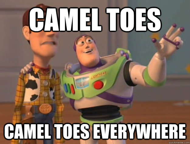 Camel toes camel toes everywhere  - Camel toes camel toes everywhere   Buzz Lightyear