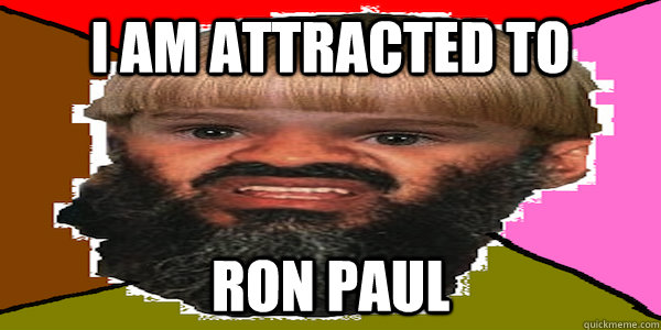 I am attracted to  Ron Paul - I am attracted to  Ron Paul  Misc