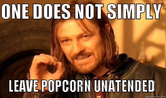 Burnt Popcorn Quickmeme