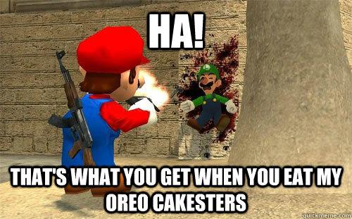 Mario Kills Luigi Memes Quickmeme