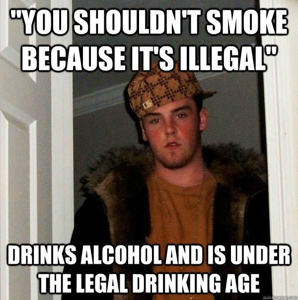 Scumbag And Is Quickmeme - It's Age Illegal
