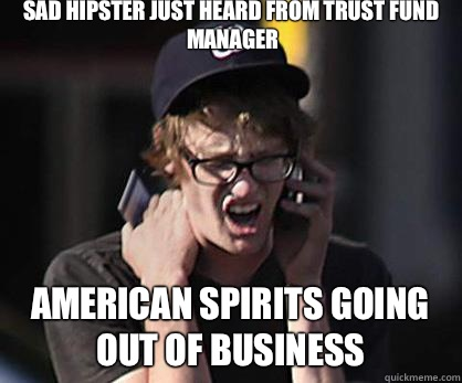Sad hipster meme blank