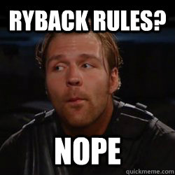 Ryback Rules? NOPE