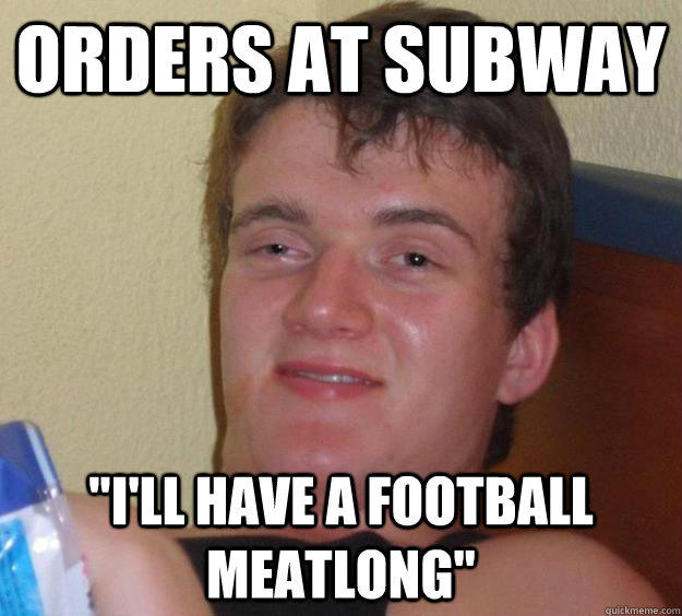 Orders at Subway
