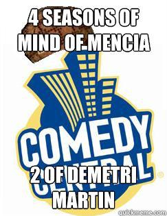 4 seasons of mind of mencia 2 of demetri martin