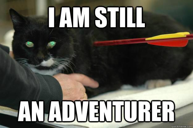I am still an adventurer