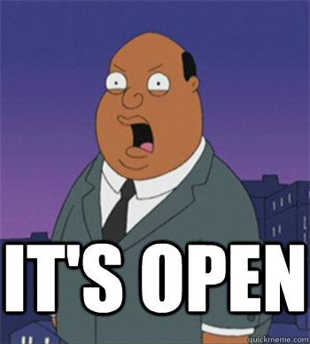 IT'S OPEN  Ollie Williams