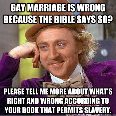 Is gay marriage right or wrong