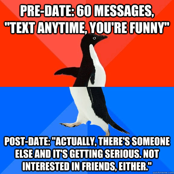 Pre-date: 60 messages,