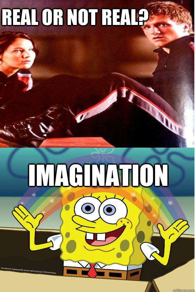 Spongebob Imagination Meme Funny : Hunger games spongebob edition memes quickmeme
