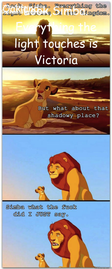 Look,Simba. Everything the light touches is Victoria  Caption 3 goes here Oakland... Thats Frankston Simba. You must never go there. - Look,Simba. Everything the light touches is Victoria  Caption 3 goes here Oakland... Thats Frankston Simba. You must never go there.  If the Lion King was rated R