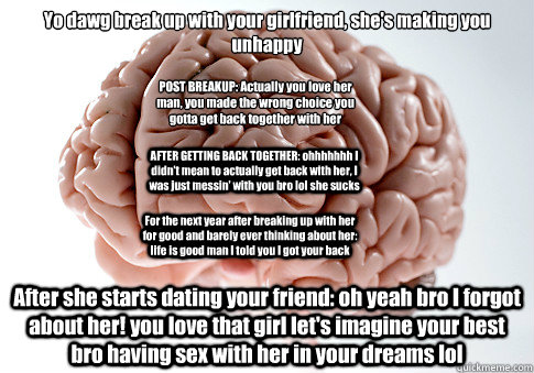 Dating your best friend and breaking up