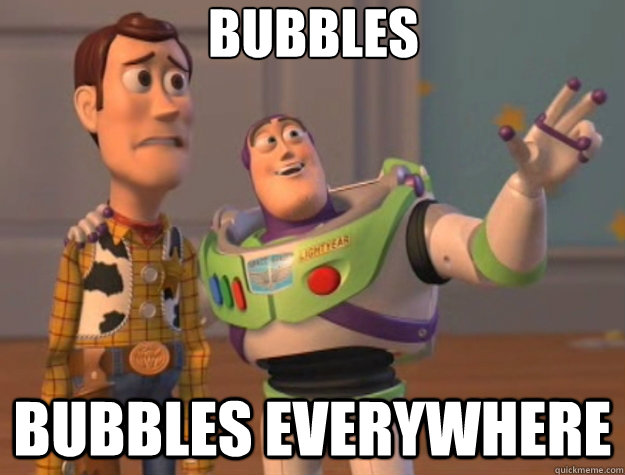 Bubbles Bubbles everywhere - Bubbles Bubbles everywhere  Toy Story