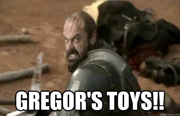 Gregor's toys!! -  Gregor's toys!!  Misc