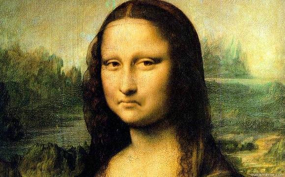 -    Not bad Mona Lisa