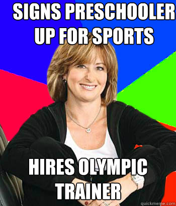 Signs preschooler up for sports Hires olympic trainer - Signs preschooler up for sports Hires olympic trainer  Sheltering Suburban Mom
