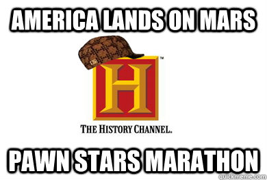 America lands on Mars pawn stars marathon