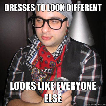 Dresses to look different Looks like everyone else