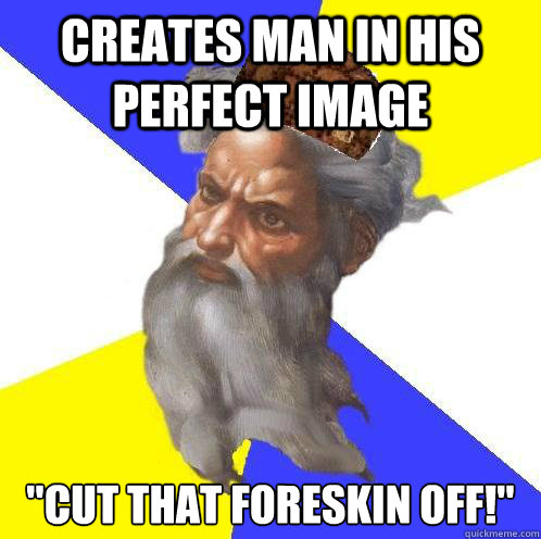 Creates man in his perfect image