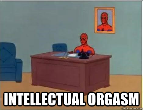 intellectual orgasm - intellectual orgasm  Spiderman Desk