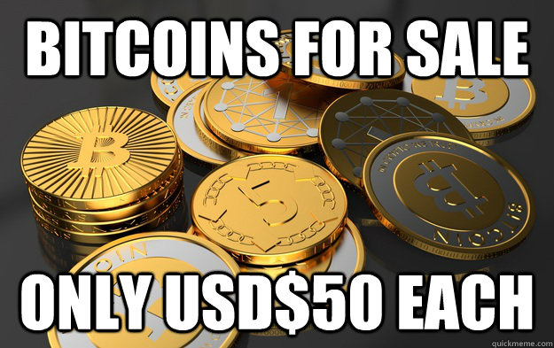 BITCOINS FOR SALE ONLY USD$50 EACH - BITCOINS FOR SALE ONLY USD$50 EACH  Misc