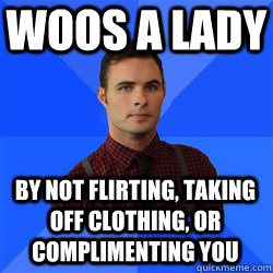 flirting meme awkward face girl costume men