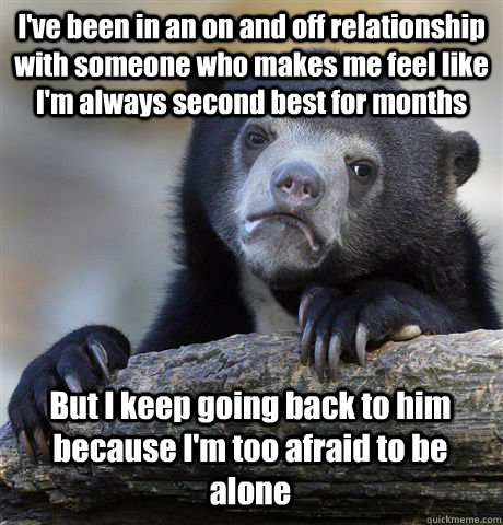 feel second best in relationship
