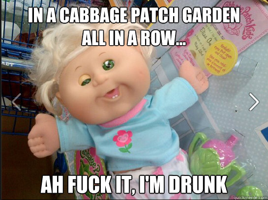 Image result for Cabbage Patch Kids funny