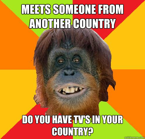 Dating a person from another country