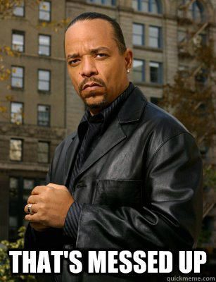 Ice T Meme UP Thats messed up Ice T