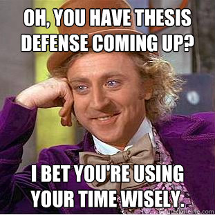 Defending your dissertation proposal | So you have to write a ...