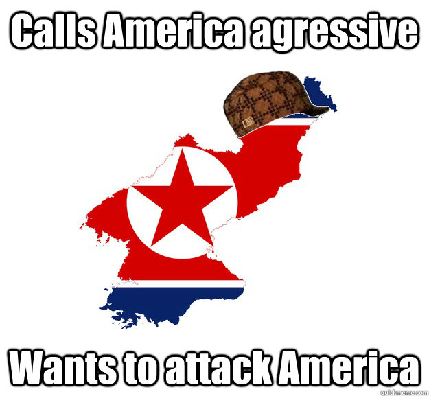 Calls America agressive Wants to attack America
