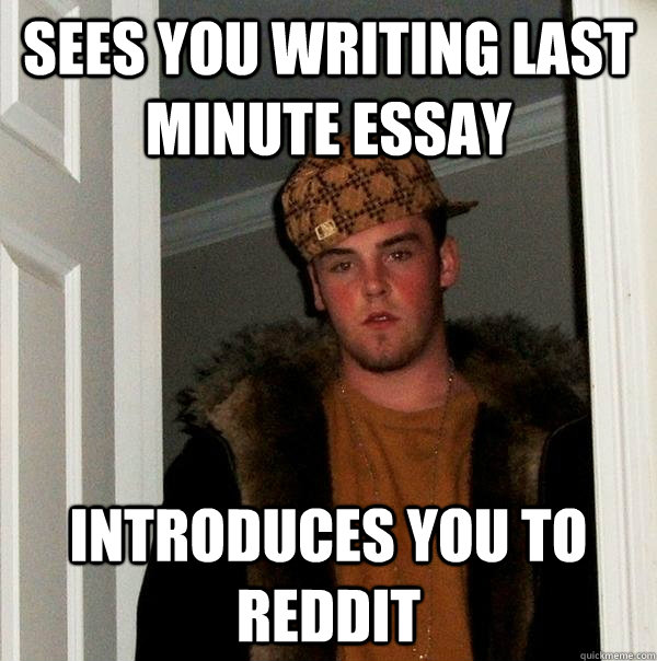 Step By Step Guide to Last-Minute Essay Writing