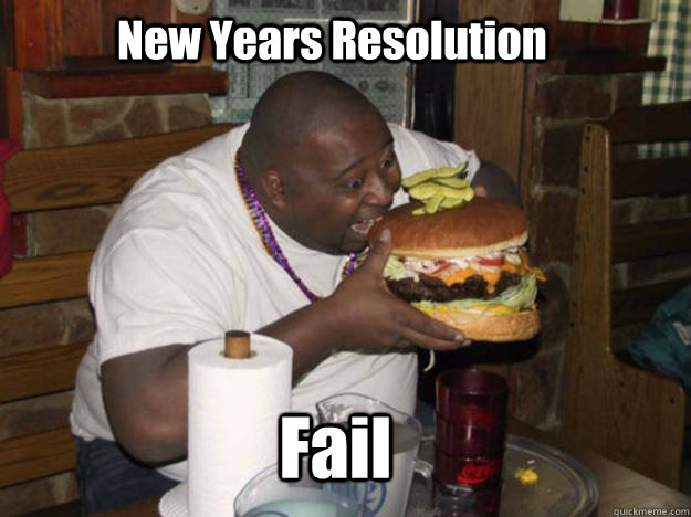 New Years Resolution Fail  New Years Resolutions