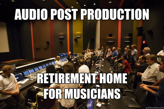 Audio Post Production Retirement Home For Musicians  Audio Post Production Retirement Home For Musicians