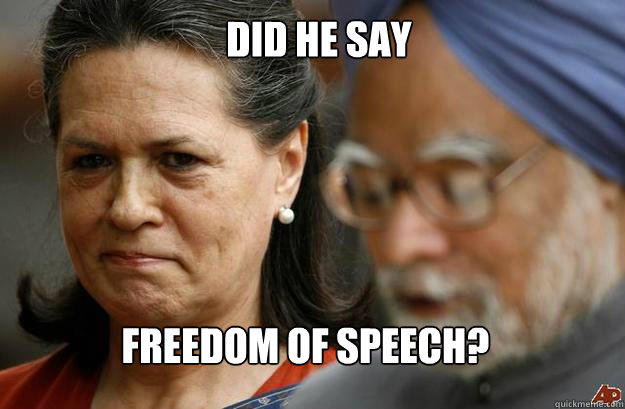 did he say Freedom Of Speech?  - did he say Freedom Of Speech?   Misc