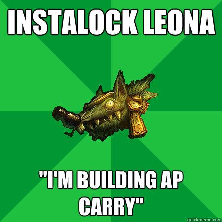 Instalock Leona
