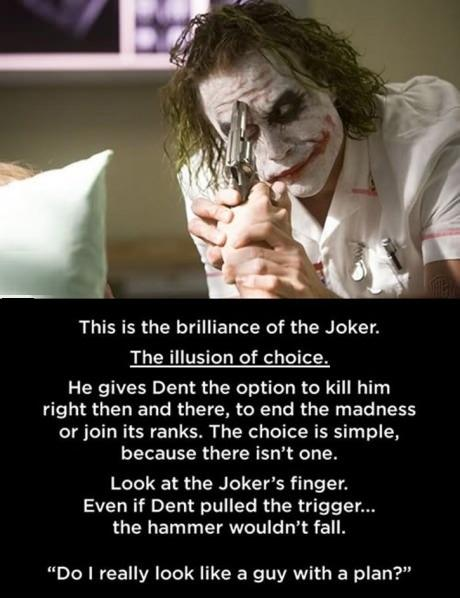 The Brilliance Of Joker! -   Misc