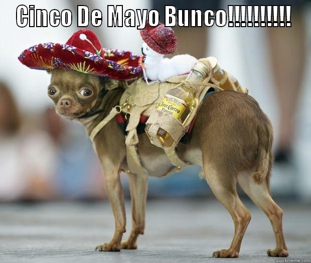 cinco de mayo bunco - CINCO DE MAYO BUNCO!!!!!!!!!!  Misc
