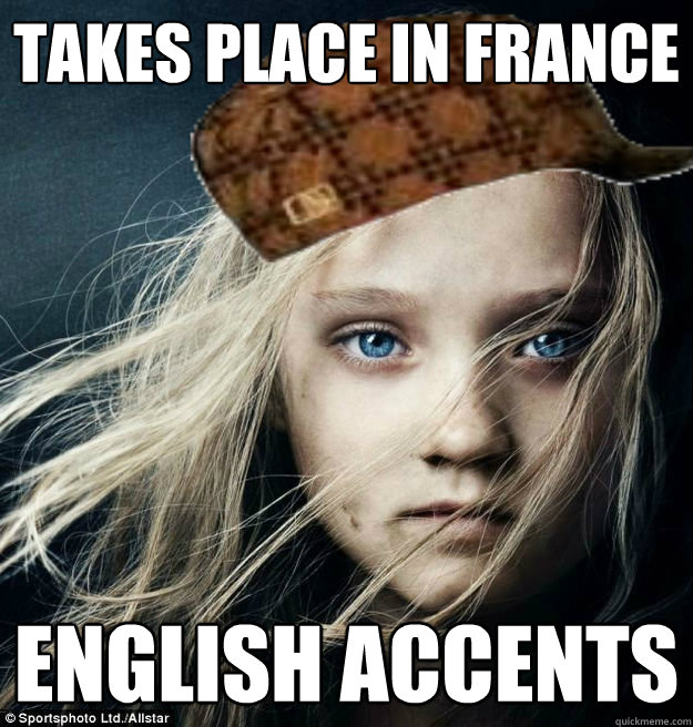 Takes Place in France English Accents - Takes Place in France English Accents  Misc