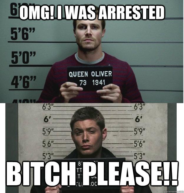 Arrow Vs Supernatural Memes