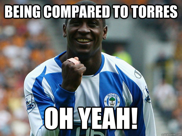 Being compared to torres oh yeah!