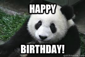 6d8a6de5c00ffe8771bd2299b39139ccac6cbed49b5d71eb60a0e1525512f7fb happy birthday! panda bear birthday quickmeme