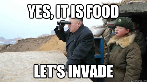 Yes, it is food Let's invade - Yes, it is food Let's invade  Misc