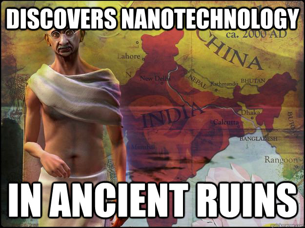 Discovers Nanotechnology In ancient Ruins