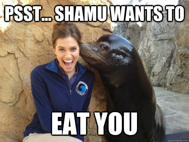 Psst... Shamu wants to Eat You - Psst... Shamu wants to Eat You  Crazy Secret