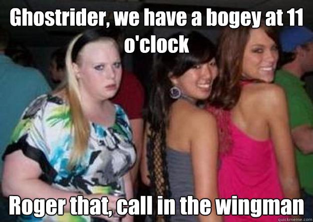 Image result for wingman meme