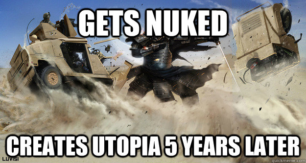 gets nuked creates utopia 5 years later