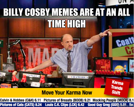 BILLY COSBY MEMES ARE AT AN ALL TIME HIGH    Mad Karma with Jim Cramer
