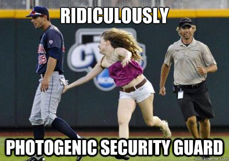Ridiculously  photogenic security guard - Ridiculously  photogenic security guard  ridiculously photogenic security guard